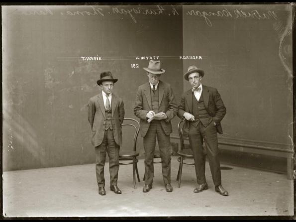 Gangsters in Jail in Australia in the 1920's